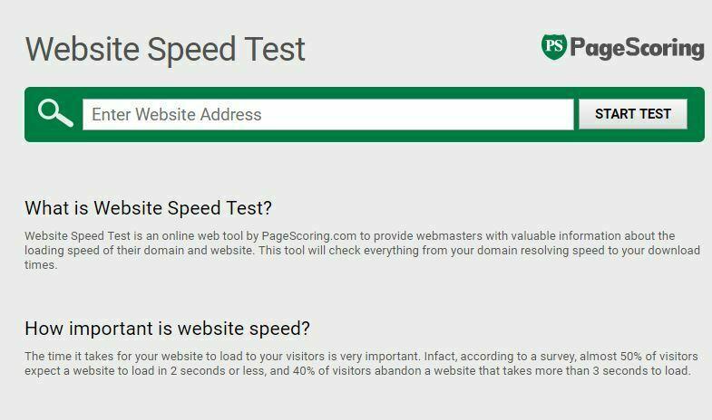 iWEBTOOL Website Speed Test