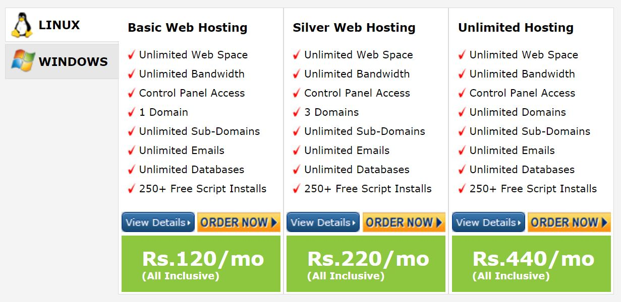 speedhost Affordable and reliable web hosting in India