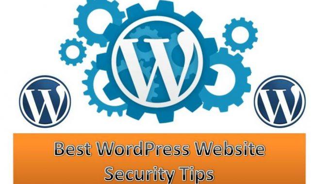 Best WordPress Website Security Tips 2019