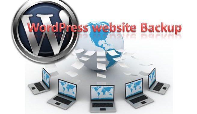 WordPress website Backup via Plugin and Cpanel